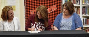 WL-S athletes sign letters of intent