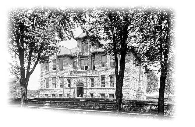Built in 1901, this school building was considered state of the art at the time. Its rooms included eight classrooms.