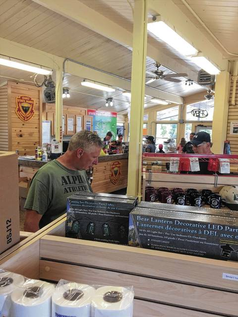 "When you need something on your camping trip, there's no greater place than the ""camp store"" or the ""Commissary"" as they call it at Indian Lake. You never know what you'll find at a camp store. The Indian Lake Commissary (pictured above) serves ice cream cones!"