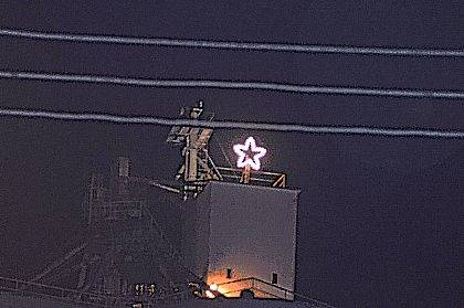 West Liberty has had its own Christmas star since the 1950s.