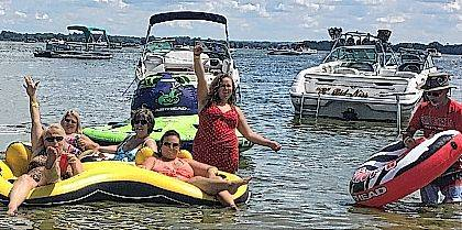 Want to have fun like these folks did at the 2017 Indian Lake Party at the Beach event? Head over to the 61st annual Indian Lake Boat Show and make those dreams come true this year. All it takes is a boat and some water.