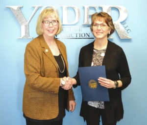 Yoder Concrete Construction receives award