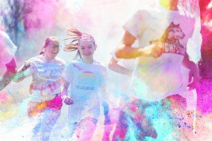 Calvary Christian will host a color run to benefit student aid on May 5 at 10 a.m. at Southview Park. This color blast 5K is for all ages! In this untimed event, participants will be blasted with color as they run, walk or skip through the course. An after-race color party will include music, concessions and a massive color throw. Each participant determines his/her entry fee, with all donations going toward student aid at CCS. Register at Eventbrite.com. Same day registration will be cash only.
