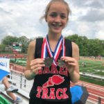 Marah Reames takes first place in high jump