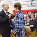 Indian Lake Middle School students honored