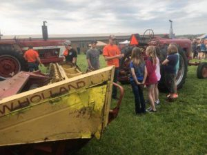 FFA'ers share ag knowledge with youngsters