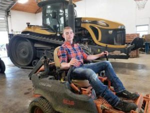 WL-S student starts lawn care business