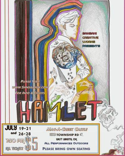 """To reserve tickets in advance for """"Hamlet,"""" visit www.SansamiCW.com/tickets."""
