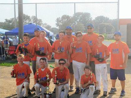 Quincy Little League L&B Auto beat Huntsville in two games to win the Little League Championship on July 1.