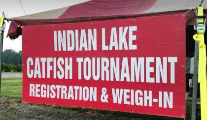 Indian Lake is a fishing mecca with over 50 tournaments a year.