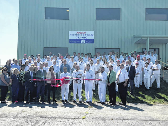 A community open house and ribbon-cutting for the new NEX Associate and Family Clinic was held Aug. 28.