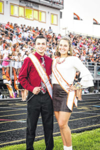 Gabby Hollar and Cayden Whitman crowned
