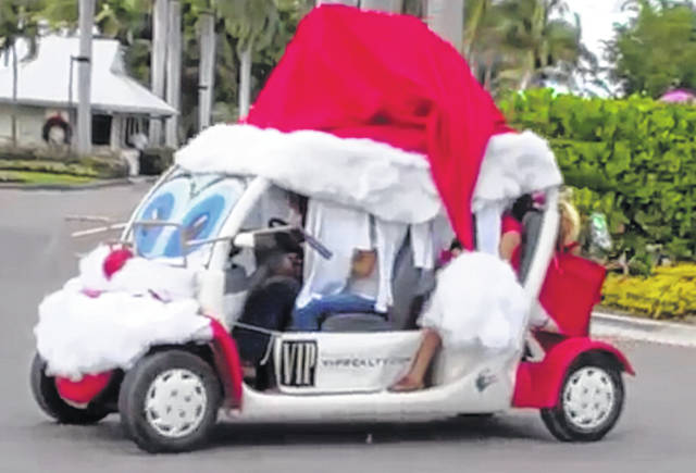 Christmas Golf Cart Parade Set For Saturday Weekly Currents